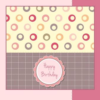 Дизайн шаблона поздравительных открыток