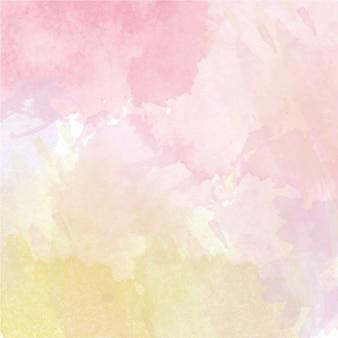 抽象的なベクトルの手描きの水彩画の背景