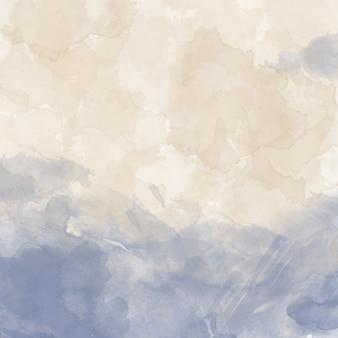 カラフルな水彩画の背景