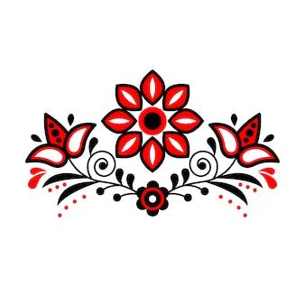 スカンジナビアの民芸飾り。