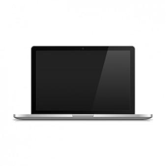Ноутбук реалистично