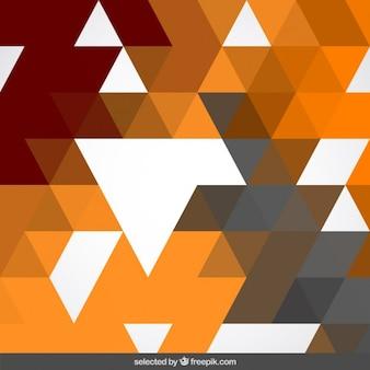 テラコッタ色の幾何学的背景