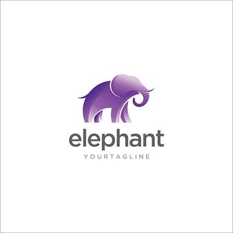 Современный слон логотип