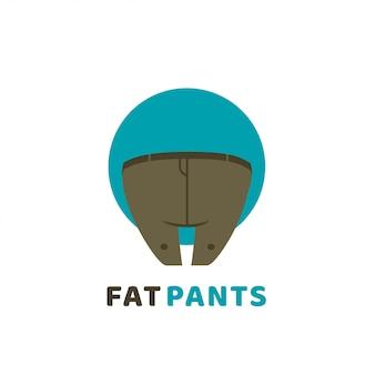 パンツのロゴ