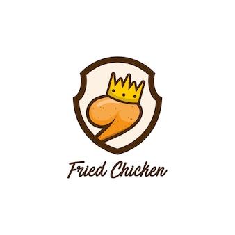 Жареный куриный логотип