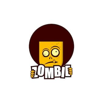 Логотип зомби
