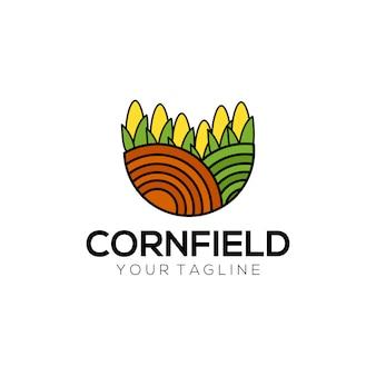 トウモロコシのフィールドロゴ