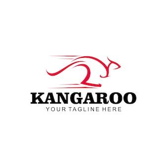 カンガルーのロゴ