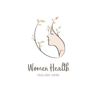 健康な女性のロゴ