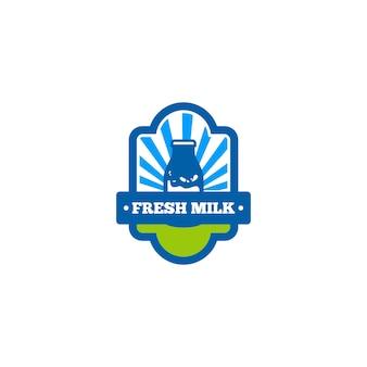 Молочный логотип