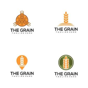 Логотип зерна
