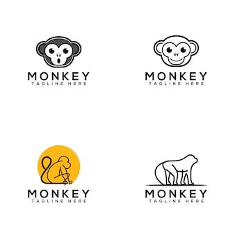 Логотип обезьяны