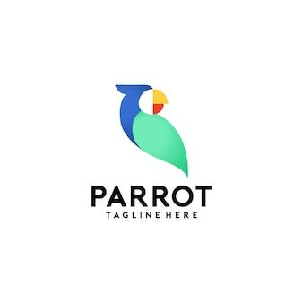 Попугай логотип