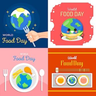 世界食料デーのイラスト