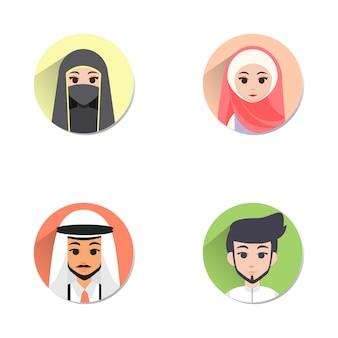 イスラム教徒のアバター