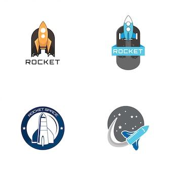 ロケットのロゴ