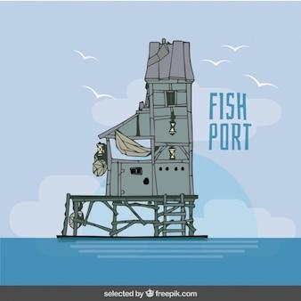 魚ポートイラスト