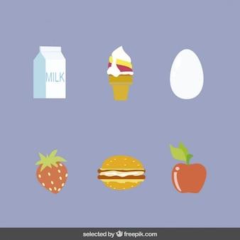 食品孤立要素のコレクション