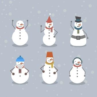 面白い雪だるまのコレクション