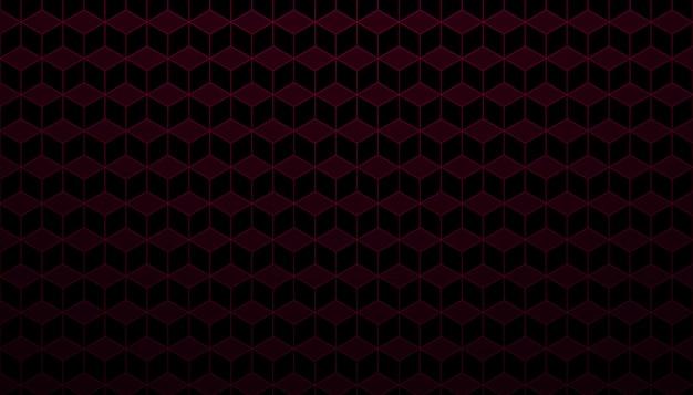モダンな六角形の背景