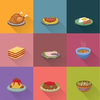 Коллекция конструкций пищевые