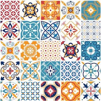 ポルトガルのシームレスパターン