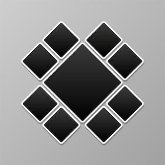 Фотоколлаж, шаблон фоторамки