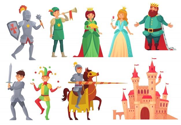中世のキャラクター