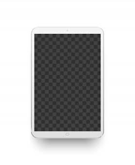 Белая таблетка. иллюстрация устройства электроники