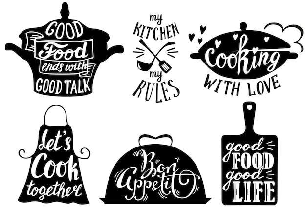 料理の短いフレーズと引用
