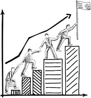 ビジネスチームワーク