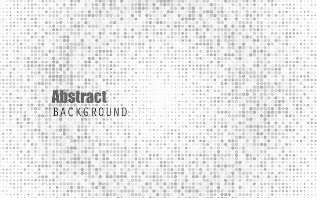 抽象的な白い色のハーフトーンの背景。黒と濃いグレー。