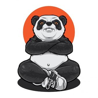 パンダ刺客