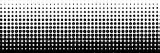 抽象的な暗いハーフトーンドット背景テンプレート
