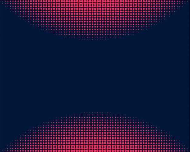 抽象的で創造的な円形ハーフトーンドット背景テンプレート
