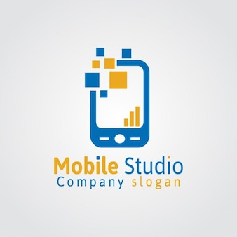 Мобильная студия логотип
