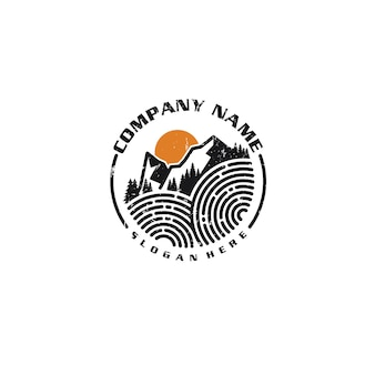 Горный логотип