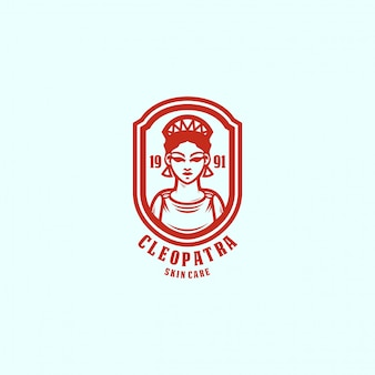 女王のロゴのテンプレート