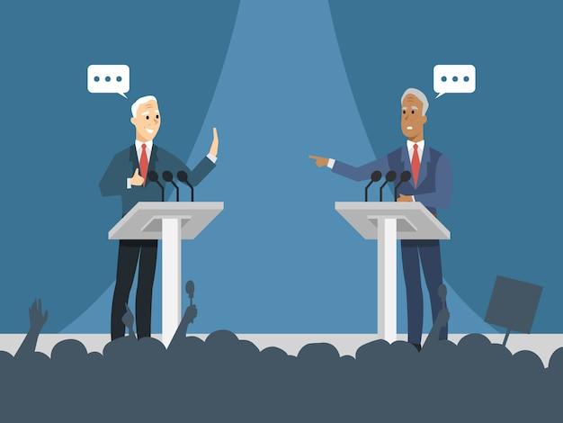 政治的な議論の背景
