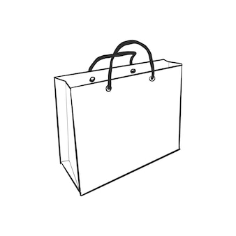 おしゃれなショッピングバッグ