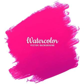 モダンなピンクの水彩の背景
