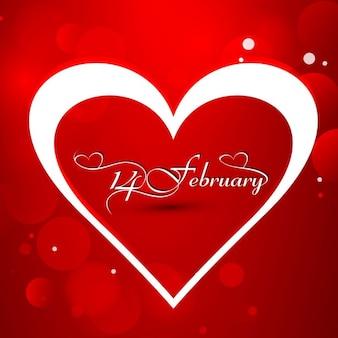 Блестящий красный фон любовь