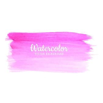手描きの水彩ストロークピンクの色合いの背景