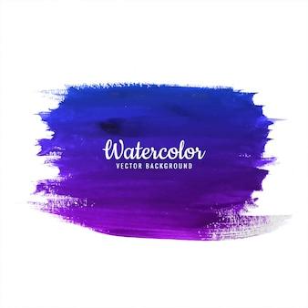 手描きの水彩画のカラフルなストロークの背景