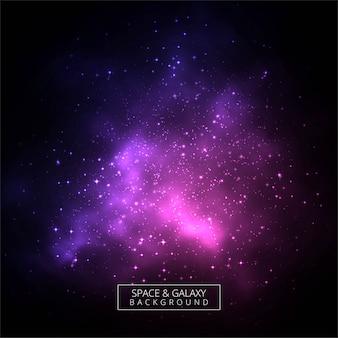 抽象的なカラフルな暗い宇宙銀河の背景
