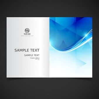 Блестящий современный дизайн брошюры