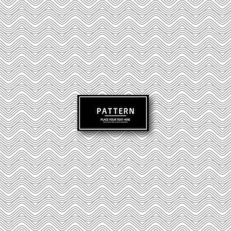 エレガントな抽象的な幾何学的線のパターンデザイン