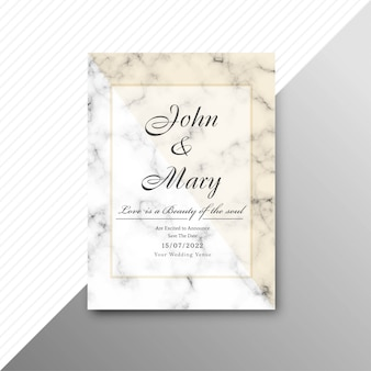 現代の結婚式招待状のカードの背景