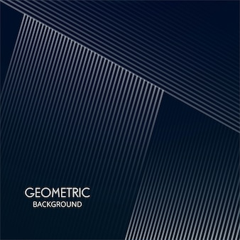 抽象的な創造的な幾何形状線