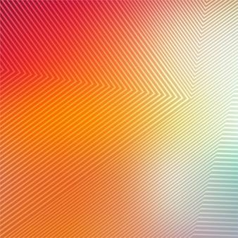 抽象的なカラフルな幾何学的線